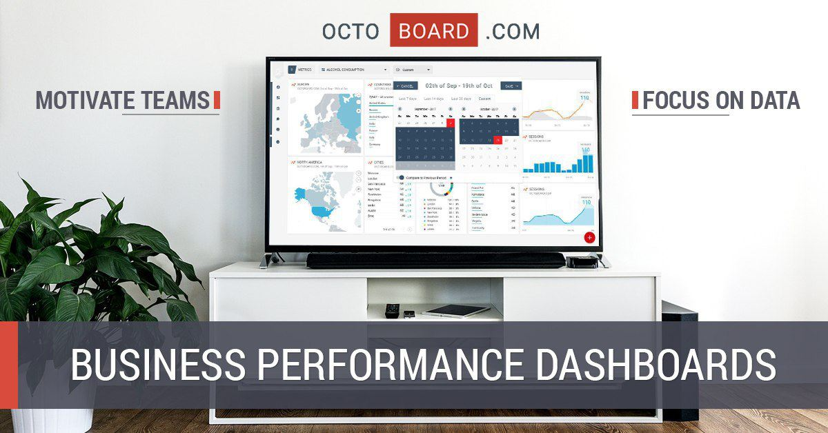 business data dashboard